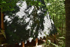 case immerse nel verde ad orme nel parco