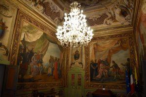sale del palazzo comunale di modena