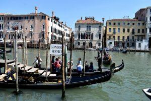 gondole taxi a venezia