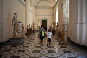 visitare il museo archeologico di Napoli