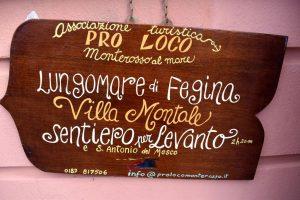 paese vecchio e fegina a Monterosso
