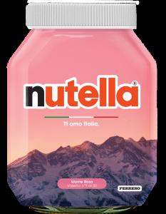 monte rosa : nutella e enit per l'italia