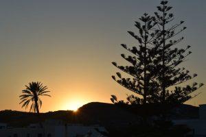 tramonto ad adamas