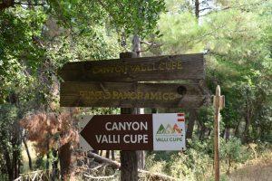 organizzare la visita a valli cupe