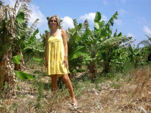 bananeto nei pressi di Vai