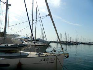 barche a vela alla Spezia