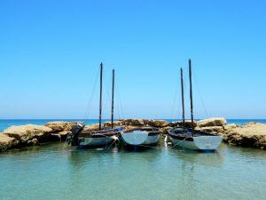 piccole barche a vela a Cipro