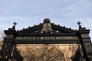 biblioteca nazionale a madrid