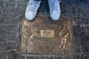 targa delle botteghe storiche a madrid