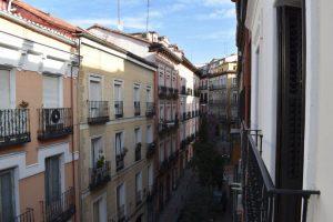 Calle Minas a Malasana