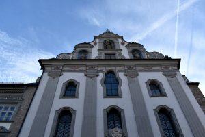 la chiesa dei Gesuiti ad Hall