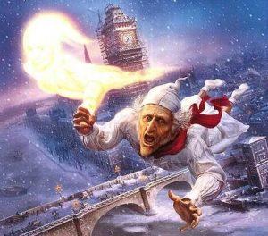 a christmas carol ambientata a Londra