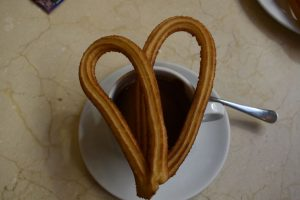 churros e cioccolato a madrid