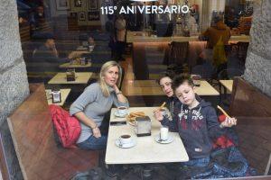 mangiare churros a madrid con i bambini