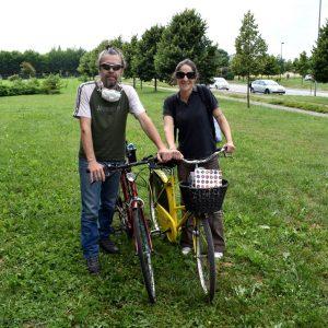 il sapone circolare arriva in bicicletta