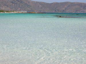 elafonissi-spiaggia nell'ovest di creta