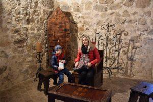 interno del castello di consuegra