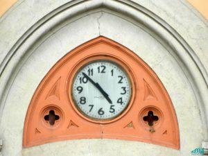 l'orologio del cotonificio di crepi d'adda