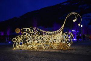 festival delle luci swarovski in Tirolo a Natale