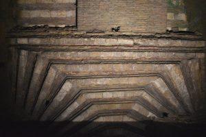 opere architettoniche all'interno della Galleria Borbonica