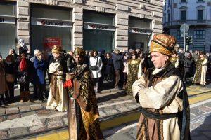 corteo storico magi a milano