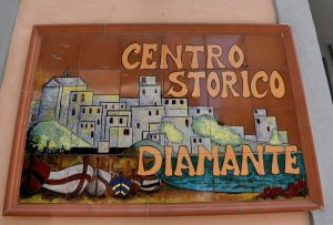 il centro storico di diamante