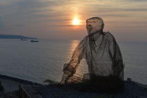 collezionista di venti di edoardo tresoldi al tramonto