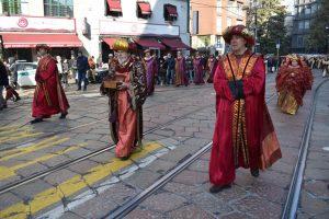 corteo storico dei magi a milano
