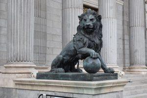 il leone di madrid