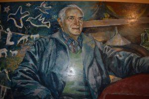 murales di mario andreoli papà del presepe di manarola