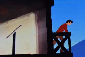 father & son videogioco del museo archeologico di napoli
