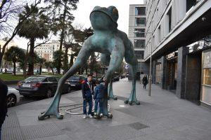 la rana gigante a madrid