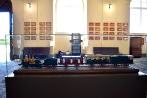 modellini al museo delle ferrovie