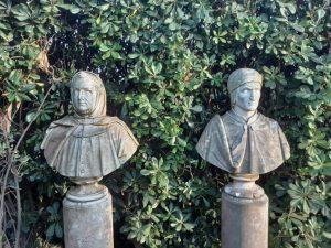 statue a villa marigola