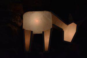 figura luminosa del prsepe di manarola