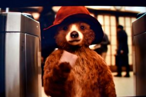 l'orso paddington in giro per londra