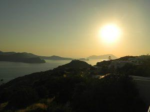 tripiti all'ora del tramonto