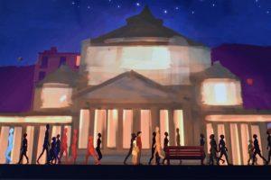 nuova versione in napoletano di faher & son video gioco del museo archeologico di napoli
