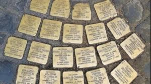 pietre d'inciampo a roma