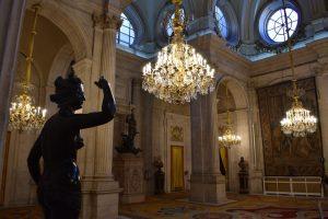 palazzo reale di madrid dall'interno
