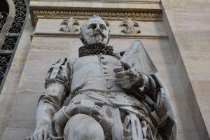 statua di cervantes a madrid