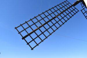 i mulini a vento della Castilla La Mancha
