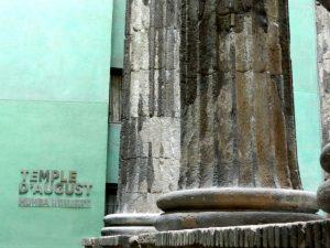tempio di augusto a barcellona
