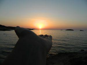 tramonti dell'isola di milos