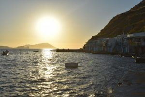 tramonti da record alle cicladi