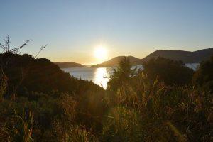 golfo dei poeti al tramonto con dotevè